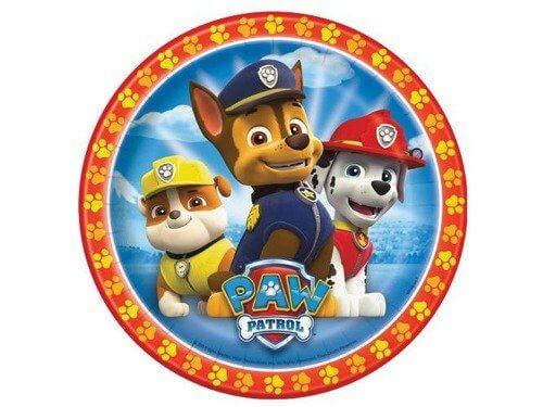 opłatek na tort psi patrol